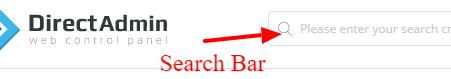 cpanel search
